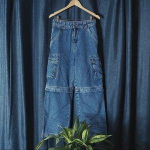 🌻MOVING SALE🌻 Twik Loose Zip-Off Jeans